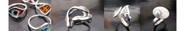 Taoba 925: anillo artesanal en plata 925. Joyas de diseño, piezas unicas. Mujer Etnica